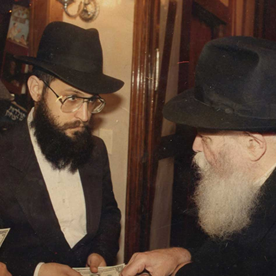 Chabad Rebbe and Rabbi Chayempour