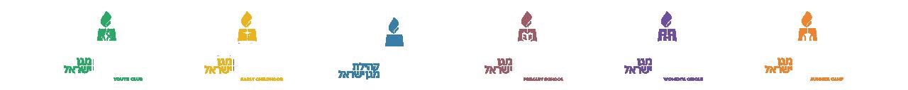 Magen Israel Logos for Programs