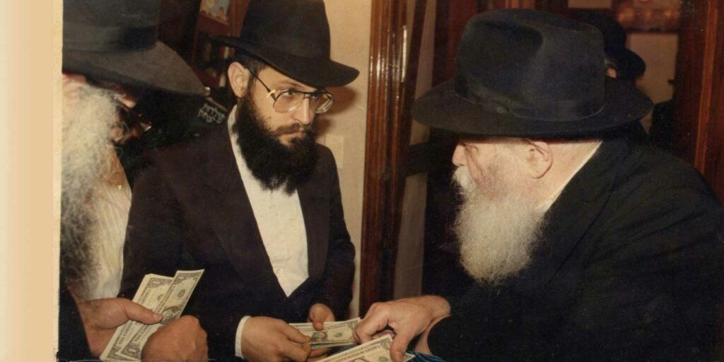 Rabbi Chayempour and Rebbe
