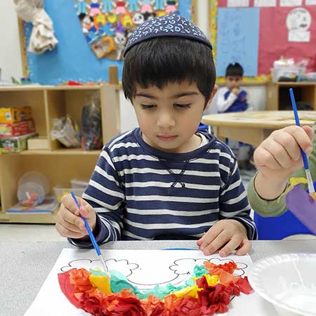 Magen Israel Preschool Child Art